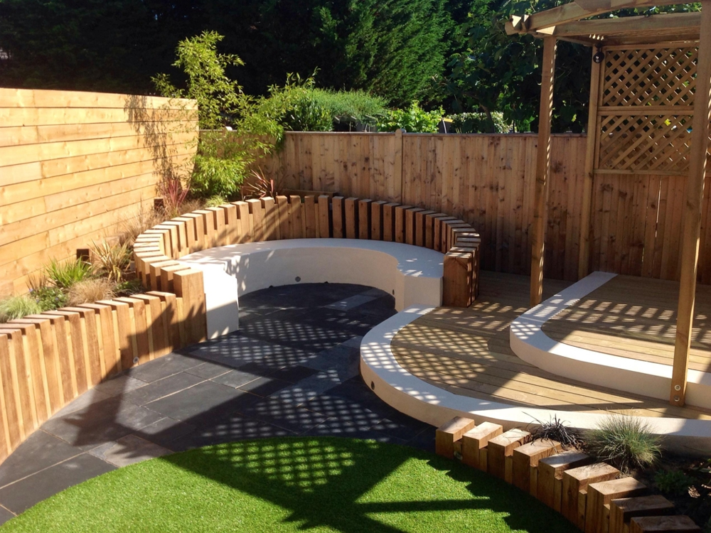 Garden Landscaping Wakefield : Tree services fencing grounds maintenance logs firewood